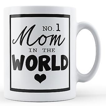 Mama nr 1 na świecie - kubek z nadrukiem