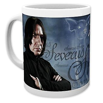 Harry Potter Severus Snape (Alan Rickman) Cup white, printed, ceramic, capacity approx. 320 ml., in gift box.