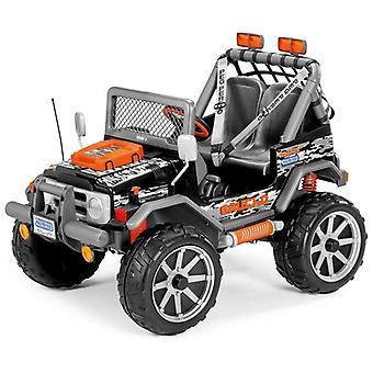 Children's 4x4 Electric Jeep Ride On Gaucho Rocking 12v Battery Powered - Peg