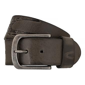 Camel active belts men's belts leather jeans belt grey 7639
