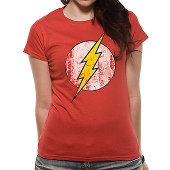 The Flash Distressed Logo T-shirt, Women