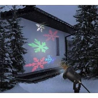 Polarlite 8623C73 LED projector Snowflakes RGB LED Black
