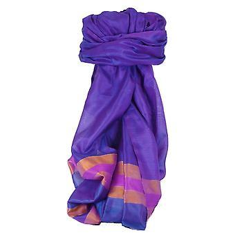 Varanasi Border Prime Silk Long Scarf Heritage Sandeep 304 by Pashmina & Silk