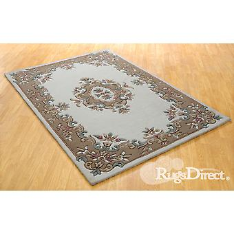 Royal Indian Cream-Beige The design is in shades of beige, rose and green on a cream background Rectangle Rugs Traditional Rugs