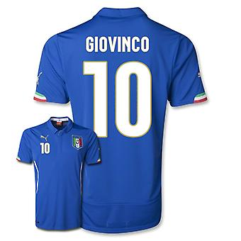 2014-15 Italië World Cup Home Shirt (Giovinco 10)