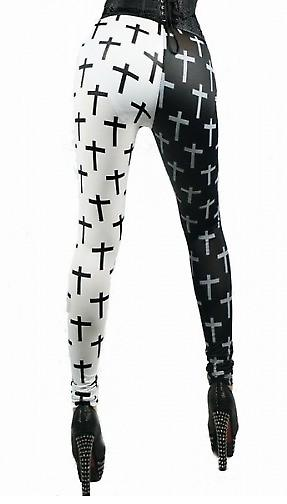 Waooh - Fashion - Legging duo cross pattern