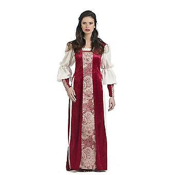 Medieval castle woman Aldara ladies costume noblewoman damsel famous ladies costume