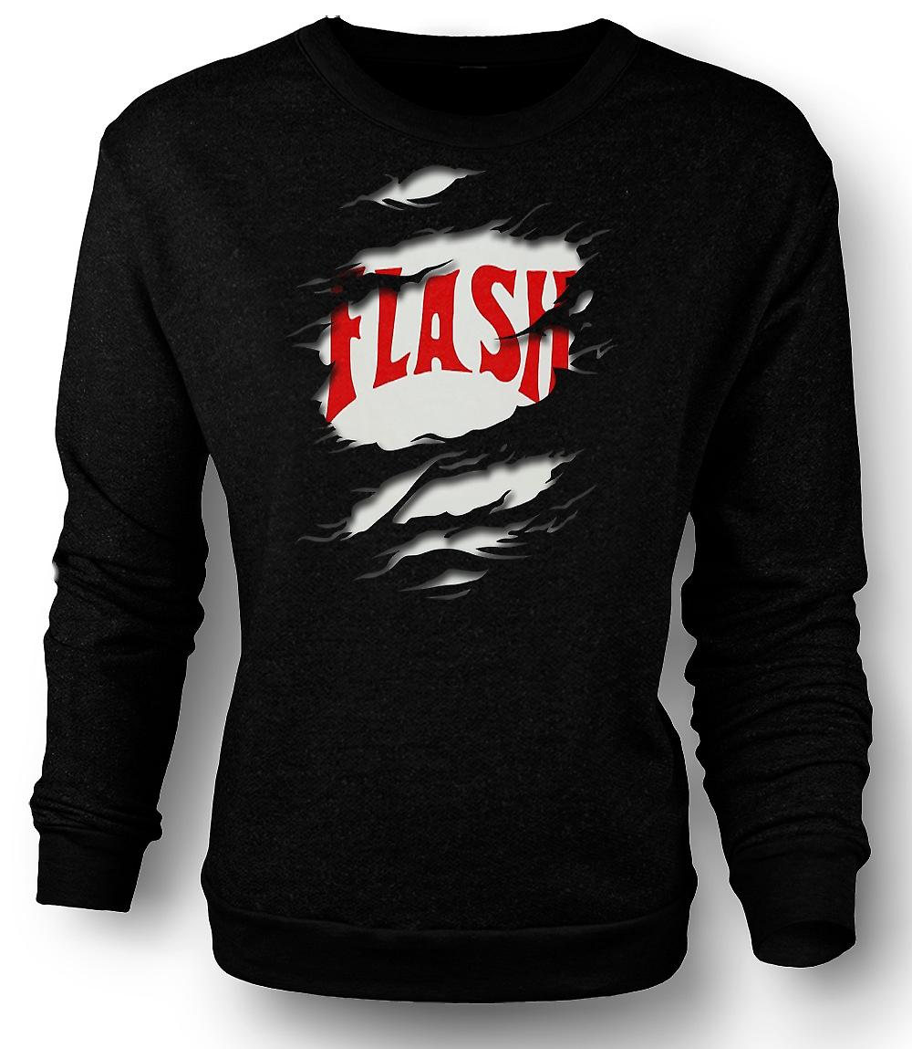 Mens Sweatshirt Flash Gordon - geript Effect