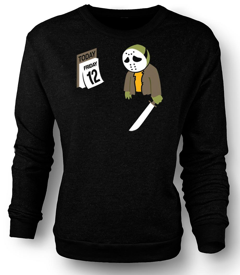 Mens Sweatshirt Friday The 12th Jason Voorhees