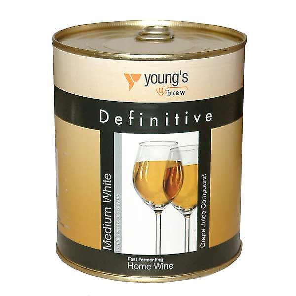 Concentrato d'uva bianco definitivo del Youngs - 900g