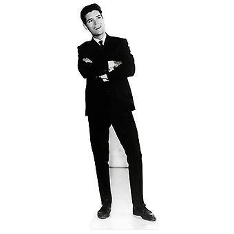 Cliff Richard preto e branco da década de 1950 Lifesize papelão recorte / cartaz