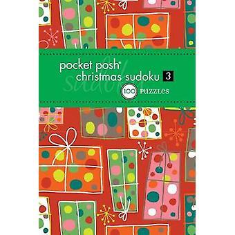 Tasche schicke Weihnachten Sudoku 3-100 Rätsel der Puzzle-Gesellschaft - 9
