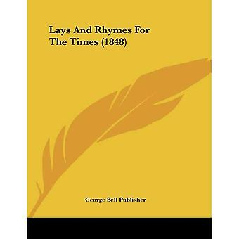 Lays and Rhymes for the Times (1848)