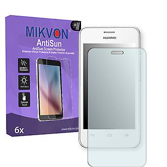 Huawei Ascend Y320 Screen Protector - Mikvon AntiSun (Retail Package with accessories)