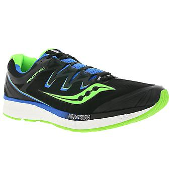 Saucony shoes comfortable men's sport shoes triumph ISO 4 black