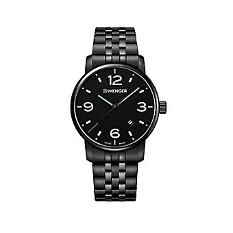 Wenger Unisex Quartz analogue watch with stainless steel band 01.1741.119