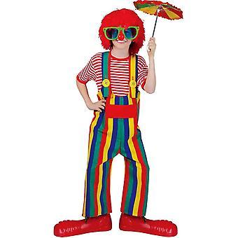 Sommer-Clown Kinderkostüm