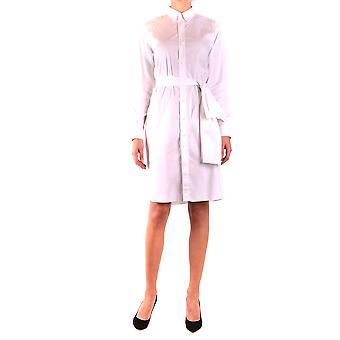 Vestido de algodón blanco de Givenchy
