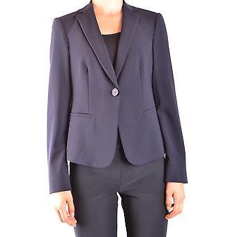 Armani Collezioni Blue Wool Blazer