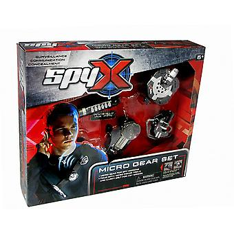 SpyX Micro Gear Set With 4 Spy Tools Ages 6 Years+