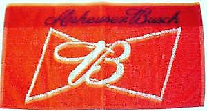 Anheuser Busch cotton bar towel   (pp)