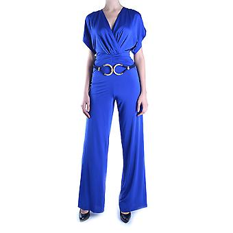 Balizza Blue Polyester Jumpsuit