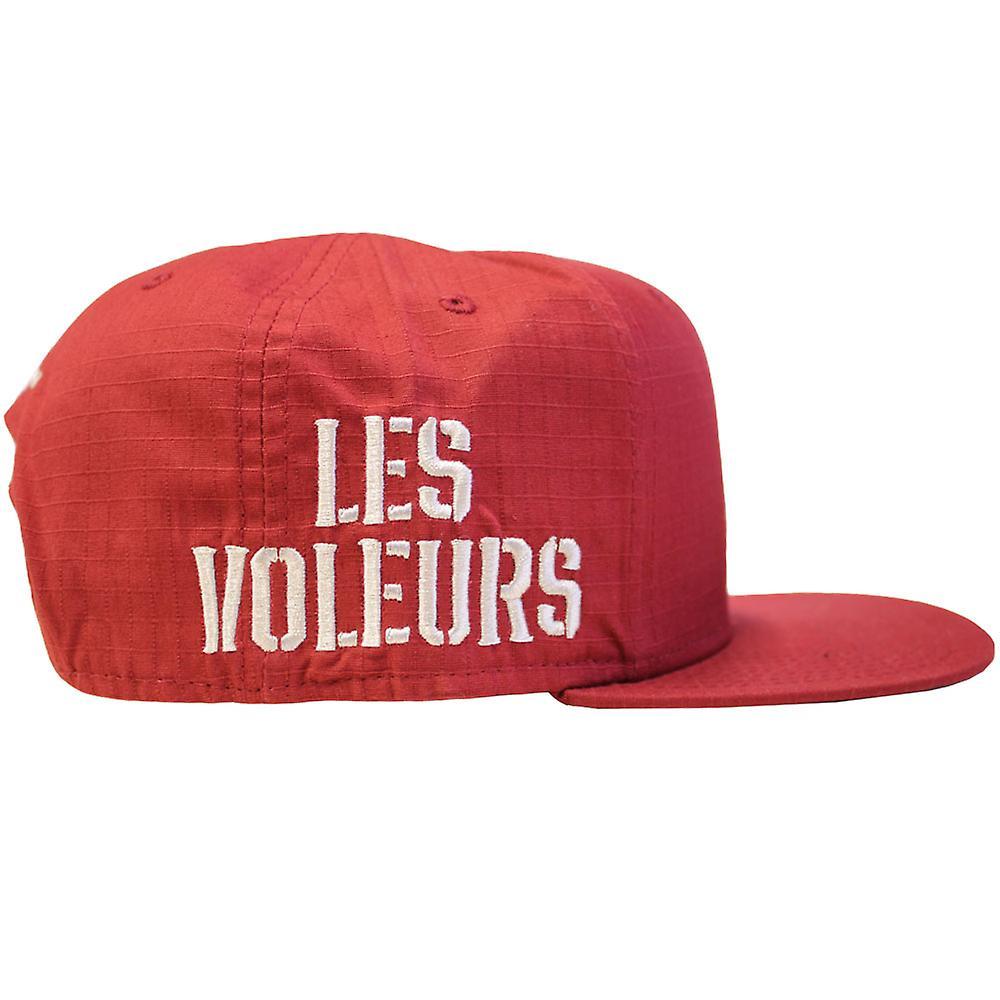 Crooks & Castles Les Voleurs Snapback Cap Burgundy