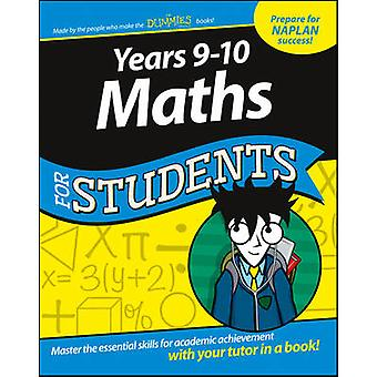 Years 9-10 Maths for Students Dummies Education Series by American Ge