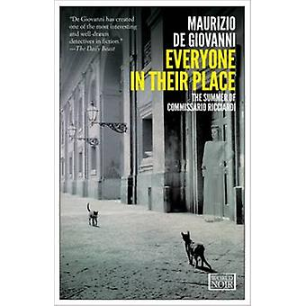 Everyone in Their Place by Maurizio De Giovanni - 9781609451431 Book