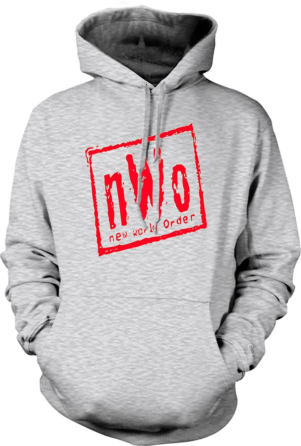 Mens Hoodie - NWO New World Order
