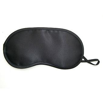 Sleep Mask With Cooling Pads - Black