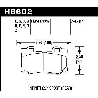 Hawk performance HB602G. 545 DTC-60