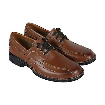 Clarks Northam Edge  Mens Brown Comfort Casual Lace Up Oxfords Shoes