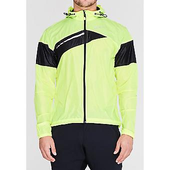Sugoi Mens Run For Cover Cycling Jacket Top Lightweight Hooded Long Sleeve