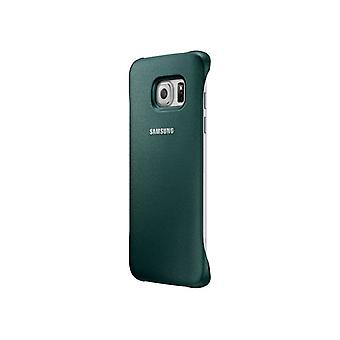 OEM Samsung Protective Cover for Galaxy S6 Edge - Green