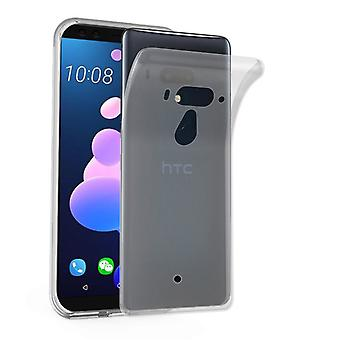 Cadorabo Hülle für HTC U12+ (Plus-Version) Case Cover - Handyhülle aus flexiblem TPU Silikon – Silikonhülle Schutzhülle Ultra Slim Soft Back Cover Case Bumper