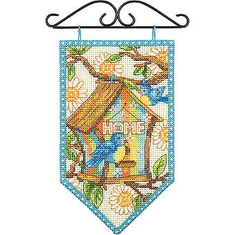 Debbie Mumm Spring Banner Counted Cross Stitch Kit 5