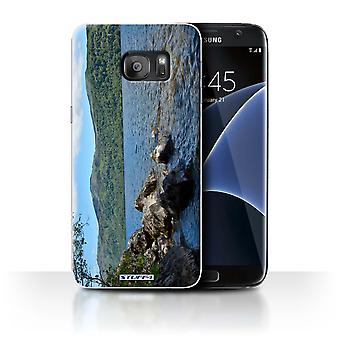 STUFF4 Tilfelle/Cover for Samsung Galaxy S7 Edge/G935/Loch/bergarter/Scottish liggende
