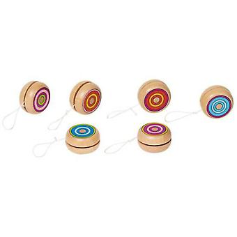 Goki Yo-Yo with colored circles (Babies and Children , Toys , Others)