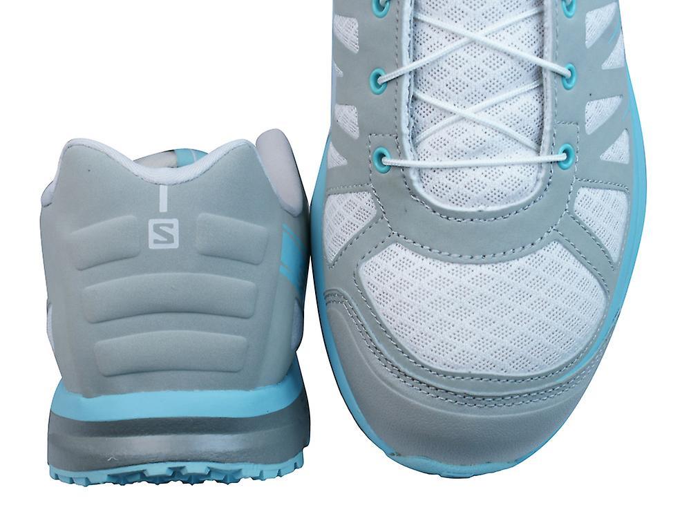 Salomon Hiking Trainers Kalalau Womens Walking Shoes - Light Grey