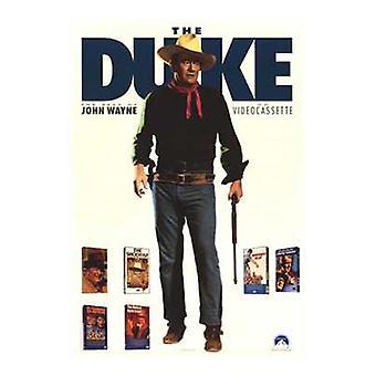 John Wayne film affisch (11 x 17)