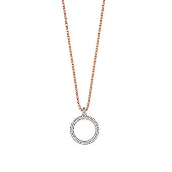 ESPRIT collection ladies chain necklace silver Rosé Peribess ELNL93009A420