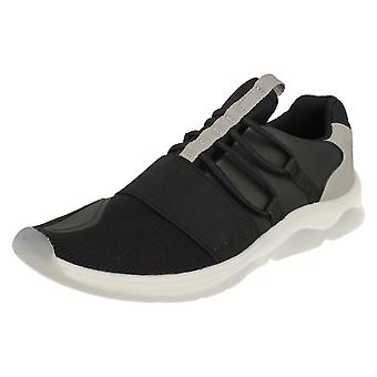 Boys Clarks Fashionable Trainers Buzzed Fire