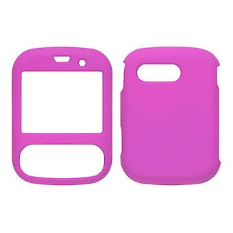 Soft Touch Snap-On Case (Hot Pink) for LG Imprint MN240 Remarq LN240