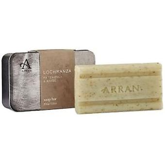 Arran Lochranza Patchouli and Anise Soap Bar in Tin 200g