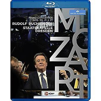 Importación de USA de Rudolf Buchbinder toca Mozart Piano Concertos [Blu-ray]