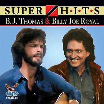 B.J. Thomas & Billy Joe Royal - Super Hits [CD] USA import