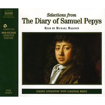 Samuel Pepys - Selections From the Diary of Samuel Pepys [CD] USA import