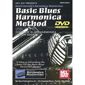 David Barrett - importación de Estados Unidos base Blues armónica método nivel 1 completa azul [DVD]