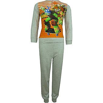 Drenge Nickelodeon Ninja Turtles lange ærmer pyjamas sæt pakket i boksen